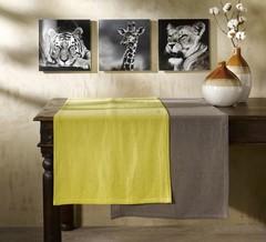 Скатерть 160x160 Proflax Sven limone