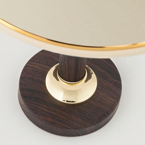 Классическая настольная лампа 60019/1 венге
