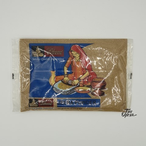 Кумин (зира) молотый Bharat Bazaar, 100 гр