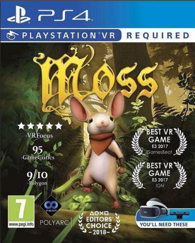 PS4 Moss (только для PS VR, английская версия)