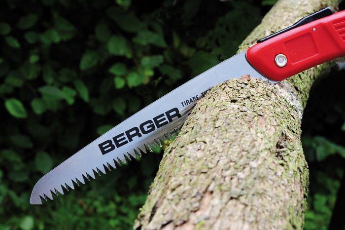 Пила садовая складная BERGER 64650, 18см