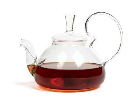 Чайник из жаропрочного стекла 600 мл