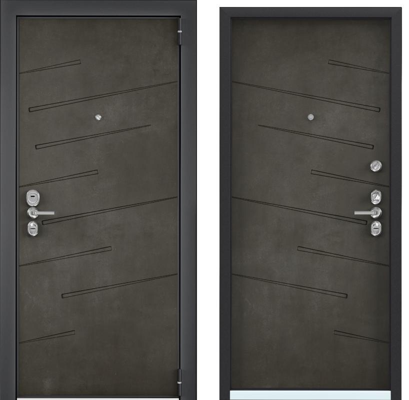 Входные двери с шумоизоляцией Torex Ultimatum Next NT-2 бетон тёмный NT-2 бетон тёмный ultimatum-next-nt-2-beton-temn.png