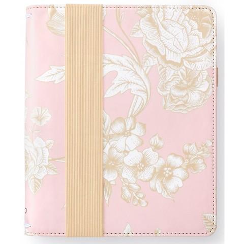 Bullet Journal -Блокнот в точку с тревел обложкой - BULLET PLANNER KIT - Pink Floral