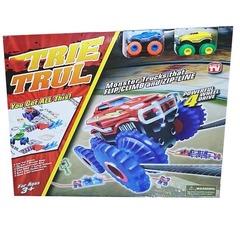 Канатный трек Trie Trul с двумя машинками