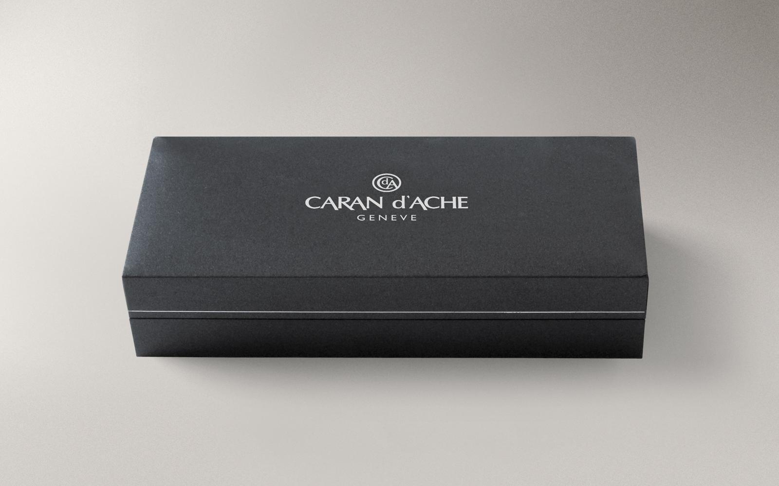 Carandache Leman - Ebony Black Lacquer GP, перьевая ручка, F