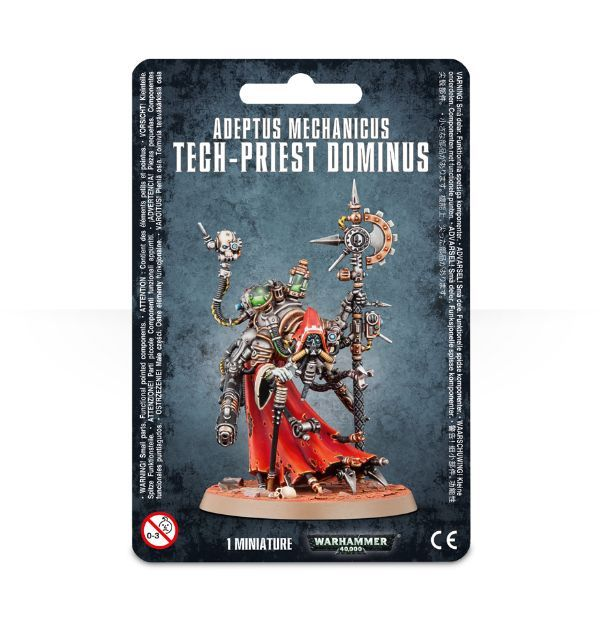 Adeptus Mechanicus Tech-Priest Dominus. Упаковка