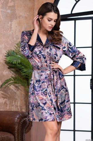 Рубашка-халат MIA AMORE ETTRO 3507 (75% натуральный шелк