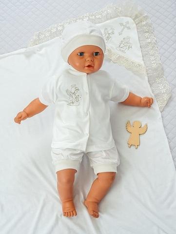 Набор для крещения мальчика Айвори