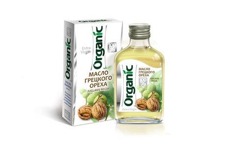 Масло грецкого ореха Органик 100мл