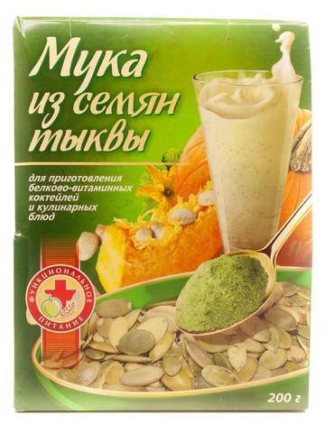 Мука семян тыквы, 200 гр