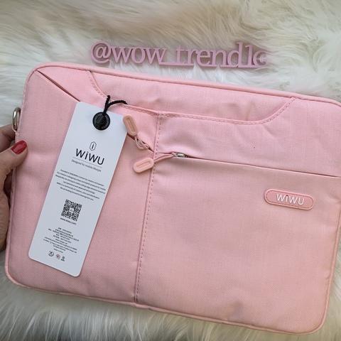 Сумка для ноутбука Wiwu Gent Brief 11.6 /pink/