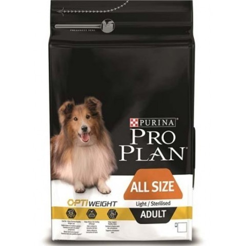 Purina Pro Plan All Size Adult сanine Light/Sterilised dry 14 кг