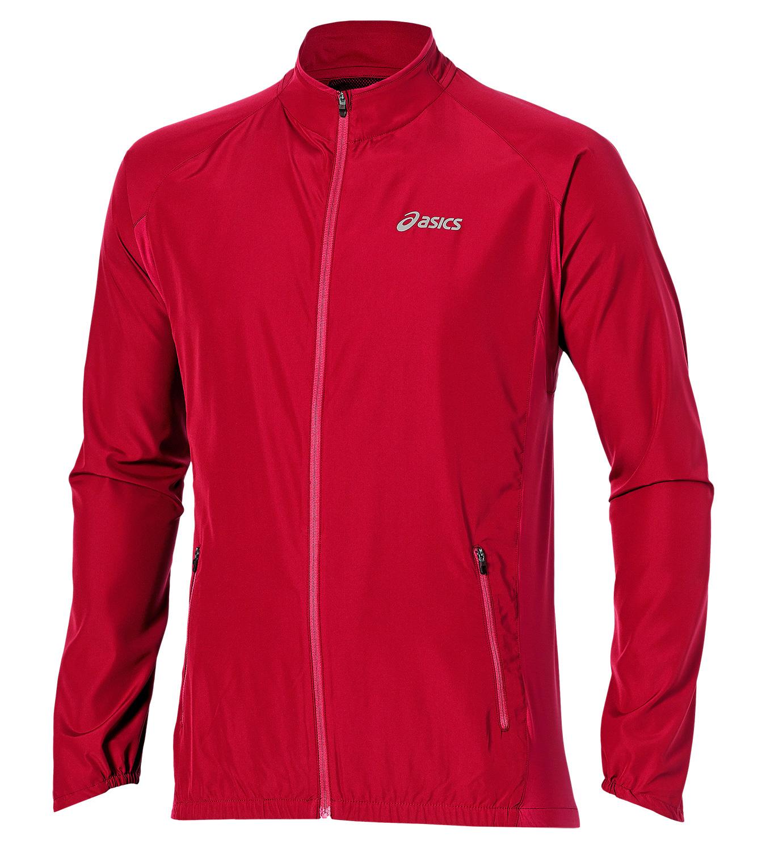 Мужская ветровка Asics Woven Jacket (110411 6015) красная фото