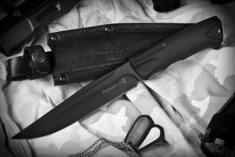 Тактический нож Коршун-2 Кожа