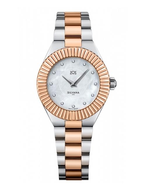 Часы женские Silvana SR32QSCR45B Feline