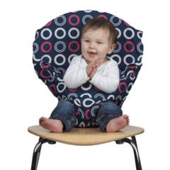 Мобильный детский стульчик Totseat 'Черника'
