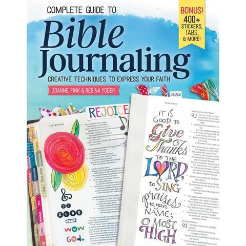 Журнал-руководство к оформлению библейского журналинга Complete Guide To Bible Journaling