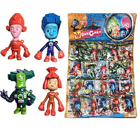 Коллекция игрушек на блистере Фиксики 1кор*1бл*20шт