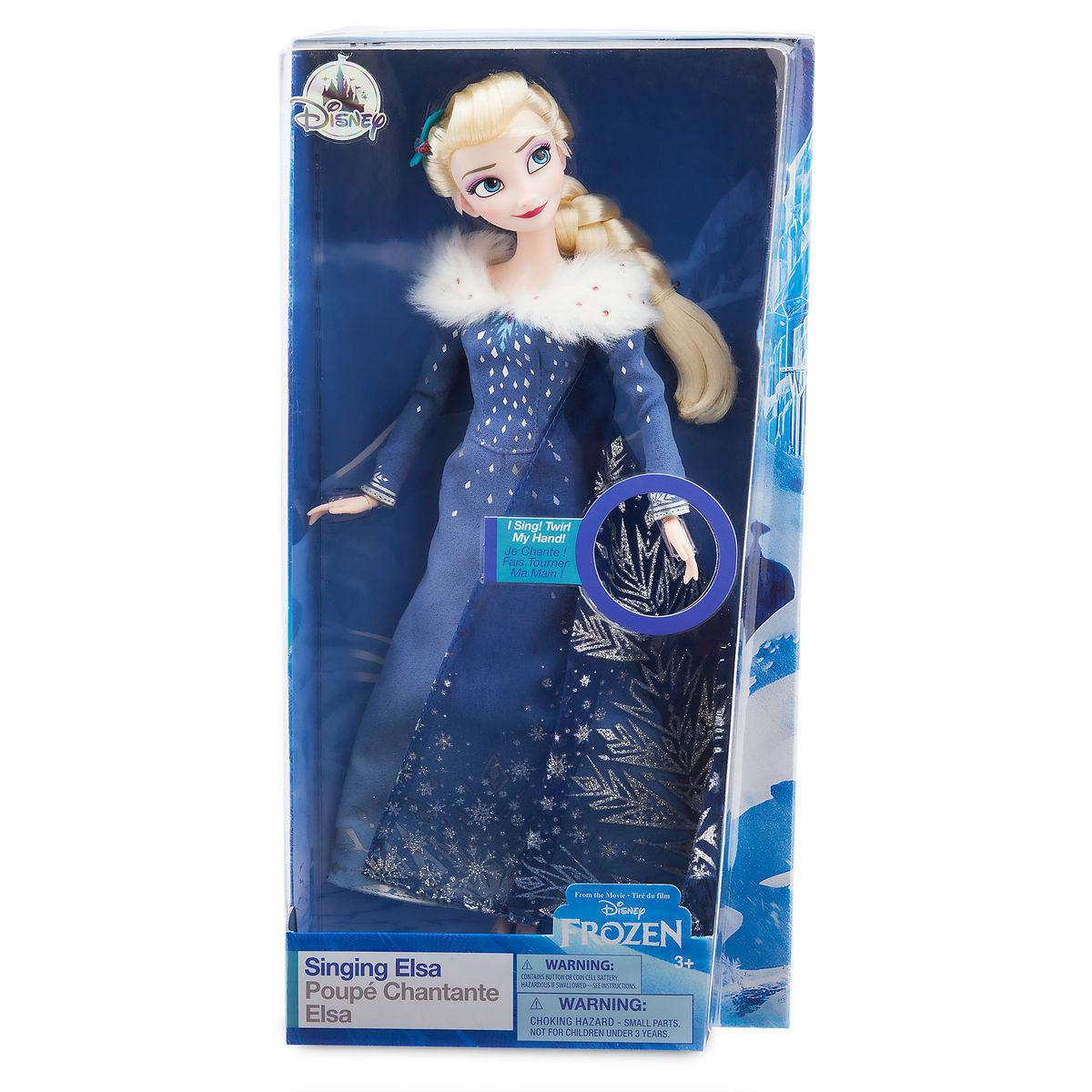 Музыкальная кукла «Эльза» - Disney Classic