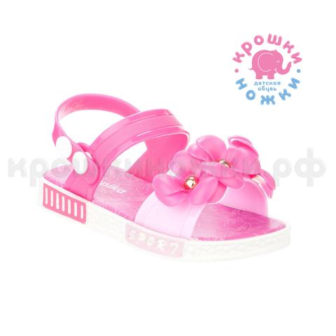 Туфли пляжные розовые цветы,  Kapika