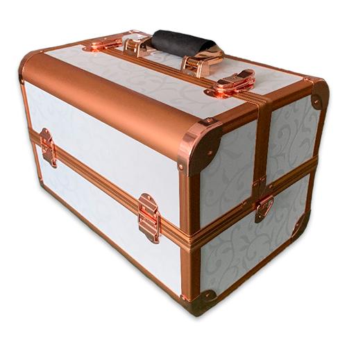 Бьюти кейсы и чемоданы Бьюти кейс для косметики CWB7350 White with gold Бьюти_кейс_для_косметики_CWB7350_белый_с_золотом.png