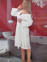 PHUL LONG - ПУЛ  ЛОНГ длинный женский  махровый халат.  Maison Dor Турция .