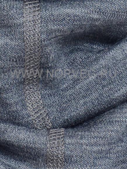 Детский баф с шерстью мериноса Norveg Монстр 7WBU-014 серый