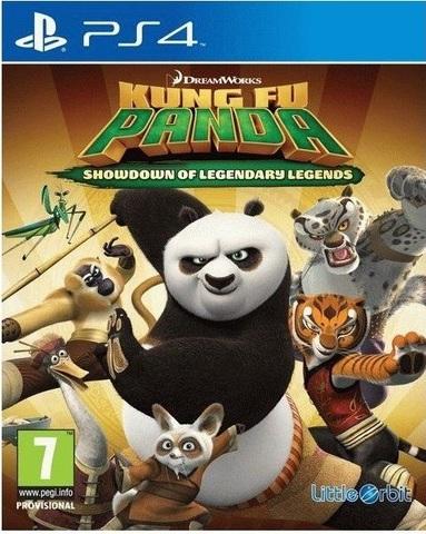 PS4 Kung Fu PANDA : Решающий Поединок Легендарных Героев (английская версия)