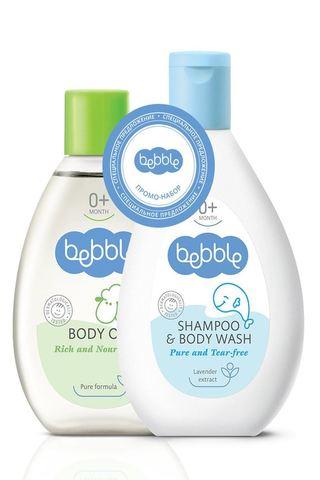 Набор детский: Масло для тела/ Шампунь для волос и тела 09034