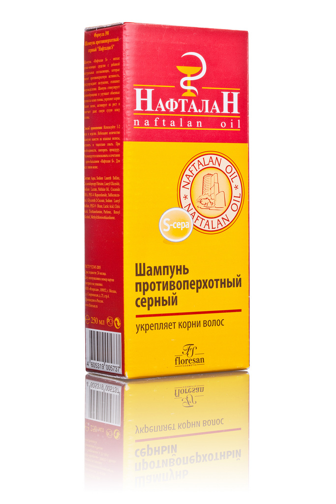 Нафталан-S шампунь серный 250 мл.