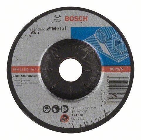 Круг шлифовальный Standard for Metal 230х6,0х22,2 мм