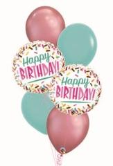 """Фонтан """"Sweet Happy Birthday"""""""