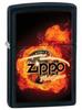 Зажигалка ZIPPO Black Matte латунь/порошковое покрытие (28335)