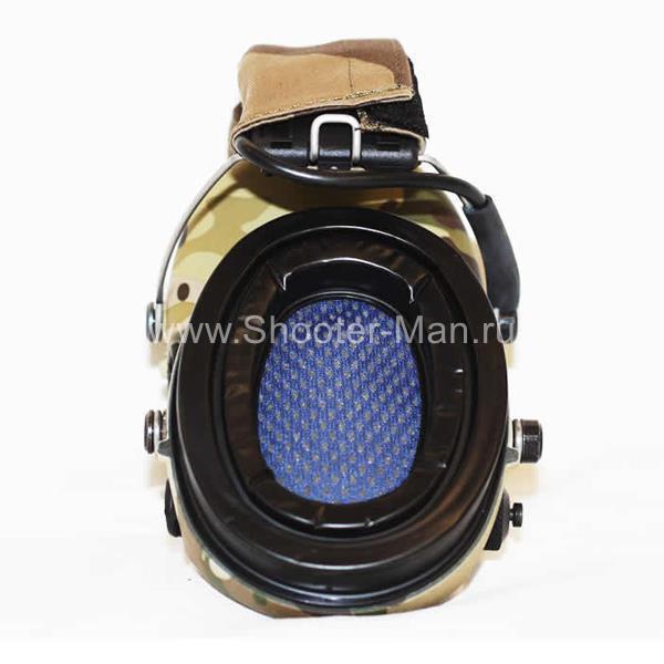 Активные наушники MSA Sordin Supreme Pro X LED Camo SOR75302-X-08