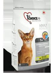 1st Choise Корм для кошек, 1st Choice hypoallergenic, с уткой и картофелем chathypoalergique_177x240.png