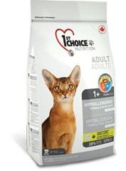 Корм для кошек, 1st Choice hypoallergenic, с уткой и картофелем