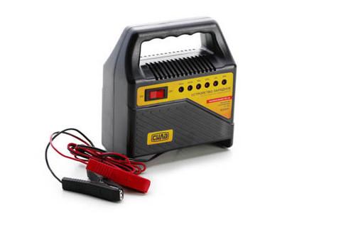 Устройство зарядное 4А 6/12В (светодиодный индикатор) (СИЛА - Инструмент)