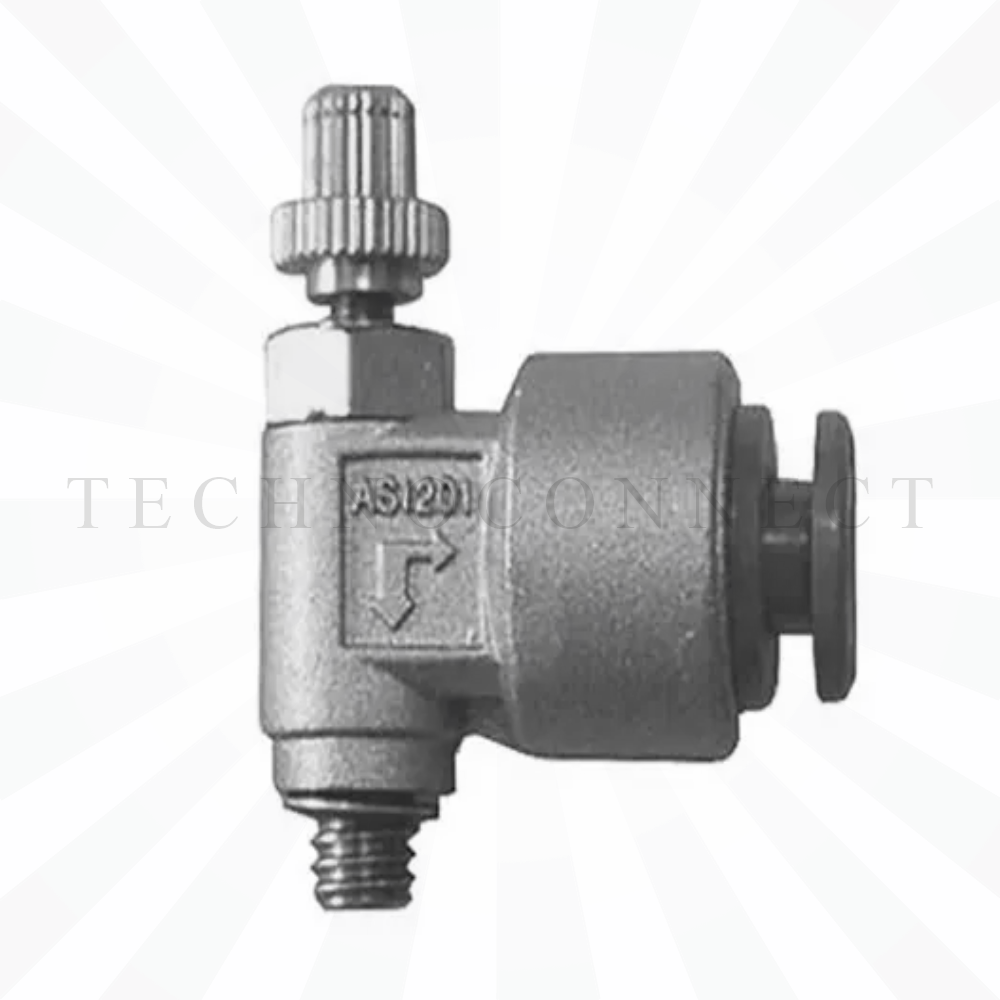 AS1201-M5-F06  Дроссель с обратным клапаном, М5х0.8