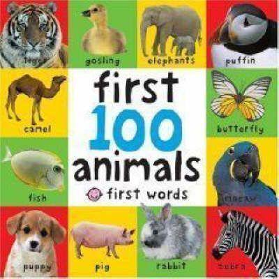 Kitab First 100 Animals   Roger Priddy