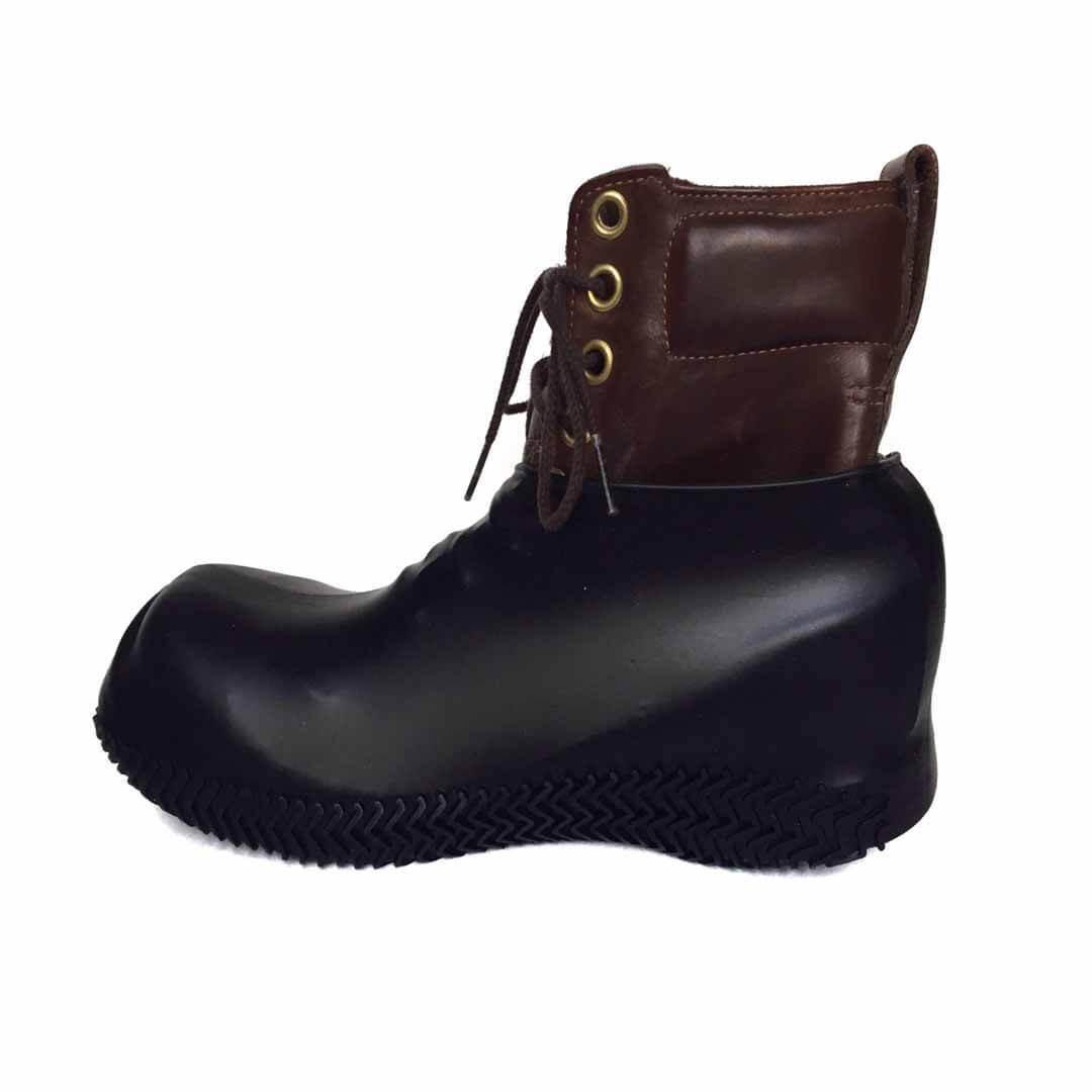 Силиконовые бахилы для обуви черные многоразовые