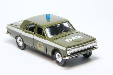 GAZ-24 Volga VAI Military Vehicle Inspection Agat Mossar Tantal 1:43