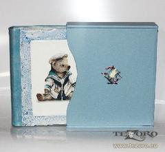 Детский фотоальбом с изображением Медведя в футляре
