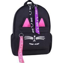 Рюкзак Bagland  Meow 11 л. Черный (0051766)