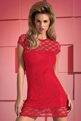 Красная сорочка и стринги Dressita Red