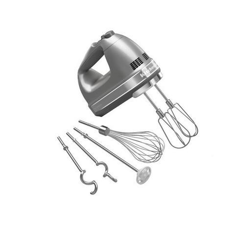 Ручной миксер KitchenAid серебристый 5KHM9212ECU