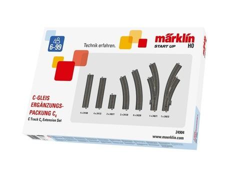 Marklin 24904 Набор расширения рельсового пути С4, 1:87