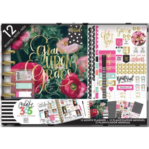 Набор для заполнения ежедневника  + планер Create 365 Planner Box Kit- 19,3 х 24,3см. - Have Faith