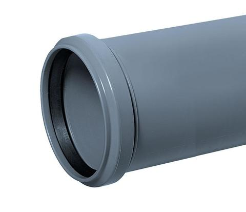 Канализационная труба Ø110х1000 мм Millenium