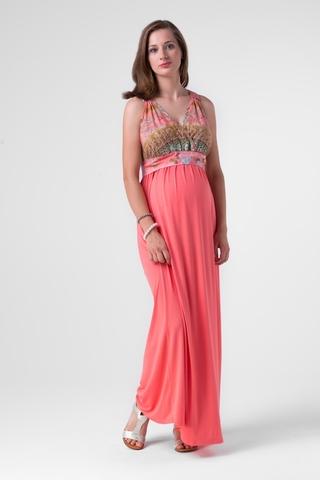 Платье 00490 розовый